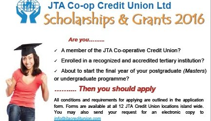 JTA Scholarships
