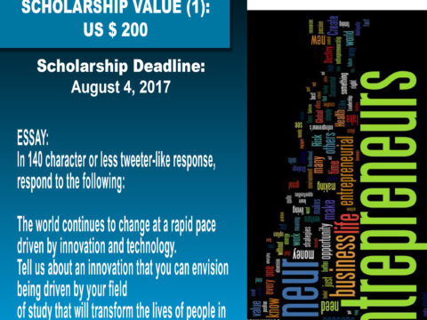 Arthur Winzro Parks Entrepreneurship Scholarship