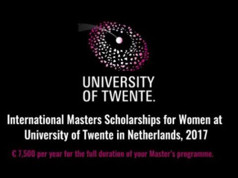 University of Twente Scholarships