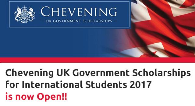British Chevening Scholarships