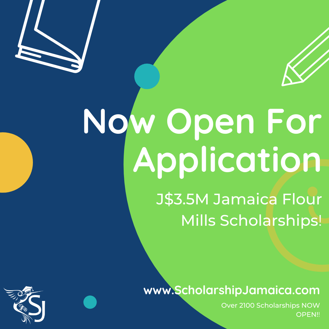 Jamaica Flour Mills Scholarships JFM Foundation