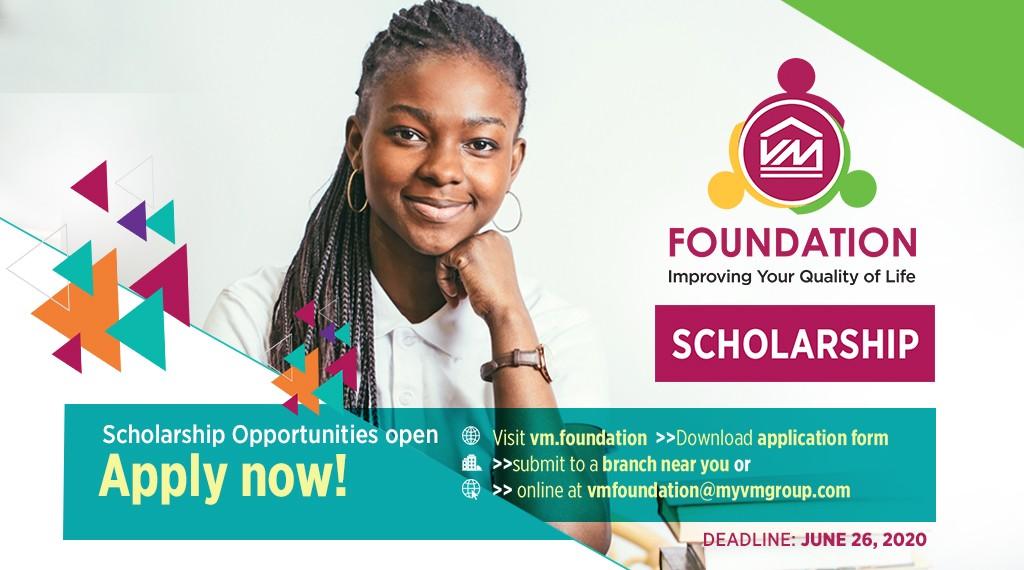 VM Foundation Scholarships, Master Plan Masters, First year scholarship, Graduate Scholarships, Head Start, PEP Bursary