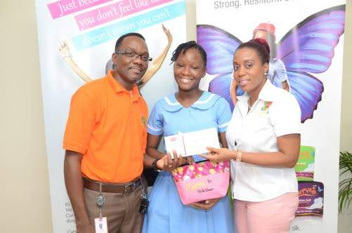 LASCO Curves Scholarship Awards Nine Girls for GSAT Performance