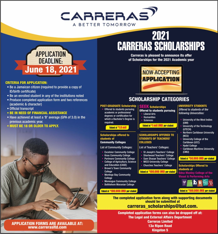 2021 SEEK Carreras Scholarship Bursaries Programme