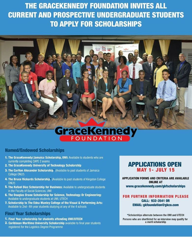 GraceKennedy Jamaica Scholarship