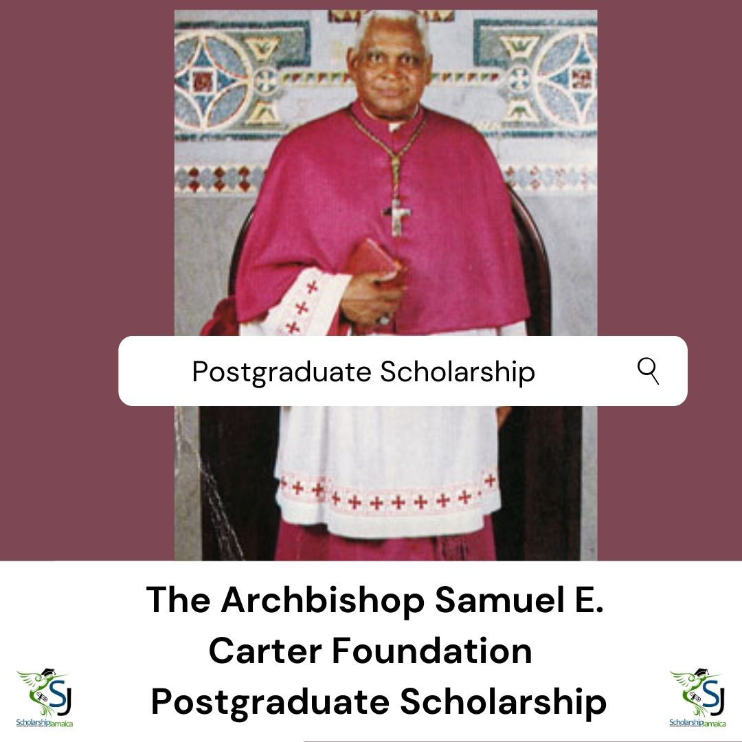 The-Archbishop-Samuel-Carter-Foundation-Postgraduate-Scholarship