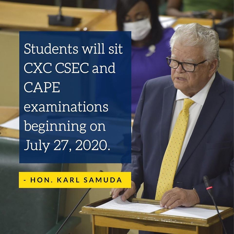 CXC, CAPE, CSEC Examination in Jamaica