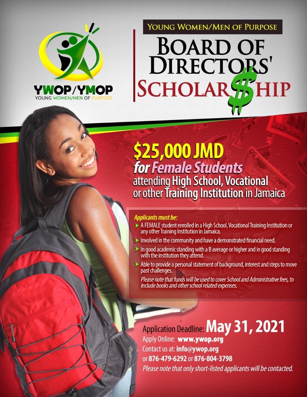 Board of Directors Scholarships