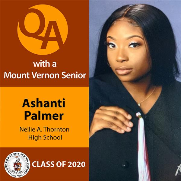 Ashanti Palmer, a graduating senior at Nellie A. Thornton High School and the Performing & Visual Arts Magnet Program, is the school's valedictorian for the Class of 2020 and recipient of $430K in scholarships.