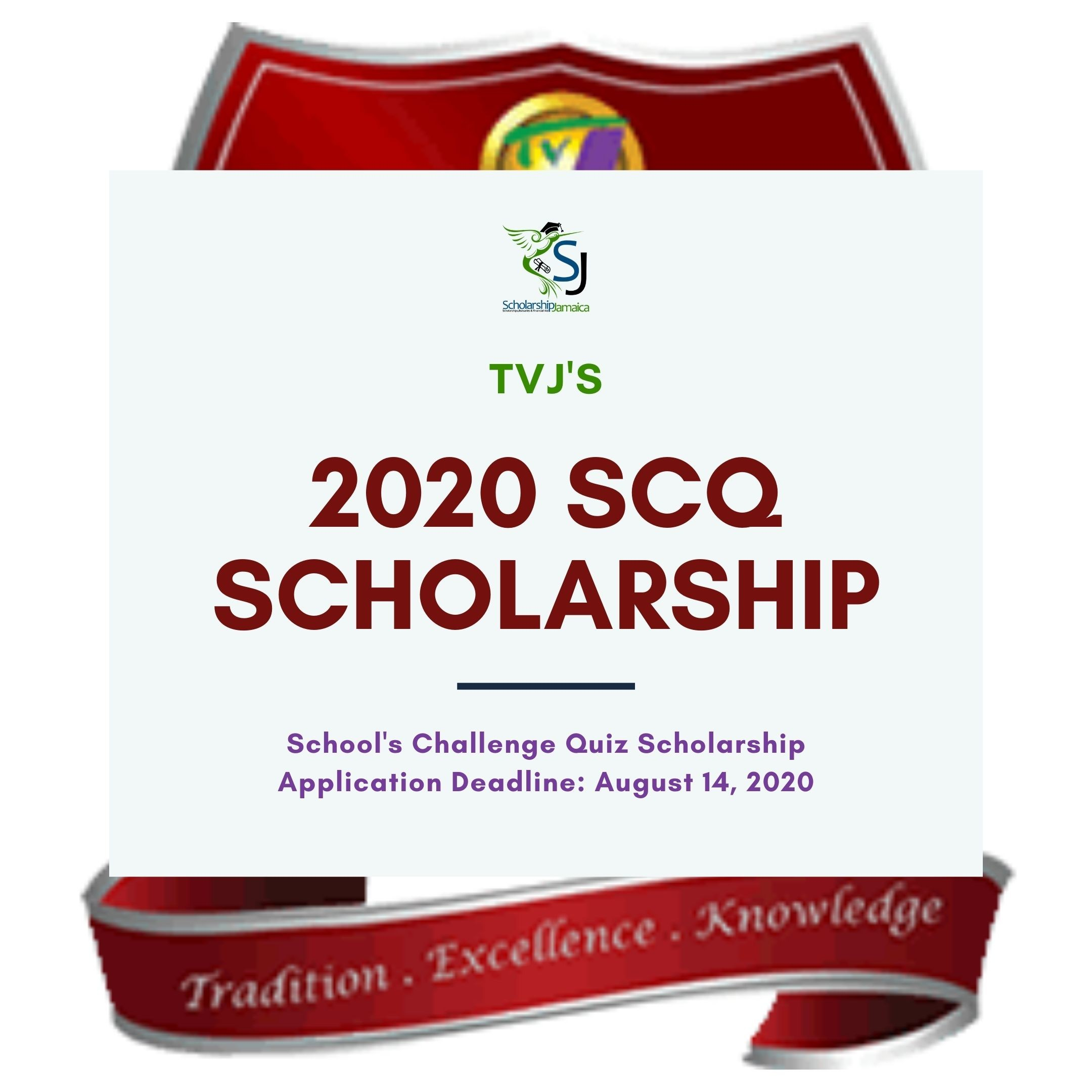 TVJ invites participants in the 2019 SCQ competition to apply for the 2020 TVJ School's Challenge Quiz Scholarship valued $500K per year.