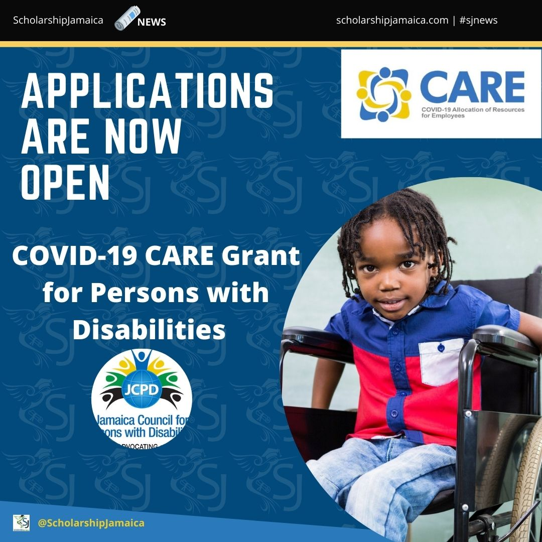 The JCPD is encouraging persons registered with the organisation who have not yet benefited under the COVID-19 Allocation of Resources for Employees (CARE) Programme to apply for financial support.