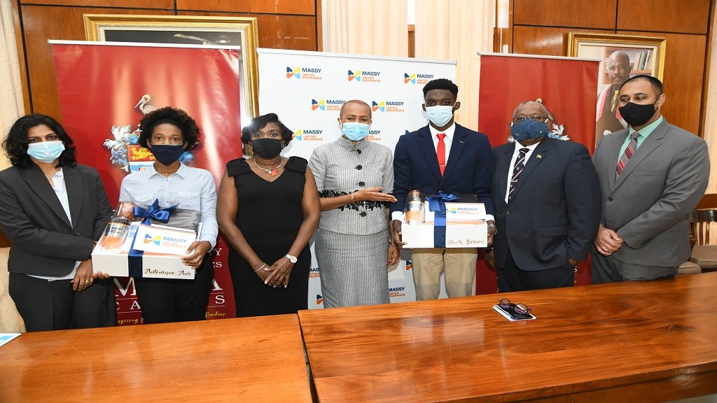 Massy United Insurance Limited selected 2 students to receive full scholarships to continue studies in Actuarial Science in Science and Technology at The UWI