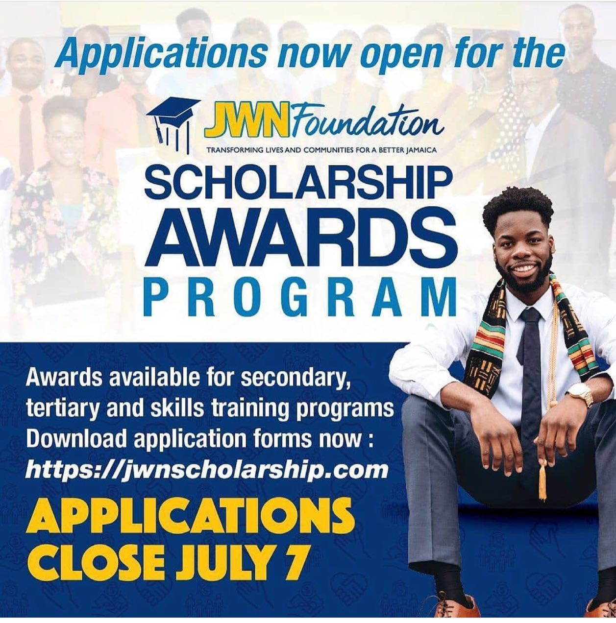J Wray and Nephew (JWN) Foundation launches expanded 2021 scholarships with 250 Community Awards as part of its commitment to the education in Jamaica