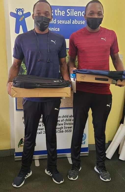 Twin boys- Peter and Peterson Daniel, through their athletic ability obtained an athletic scholarship from the Edwin Allen High School in Jamaica.