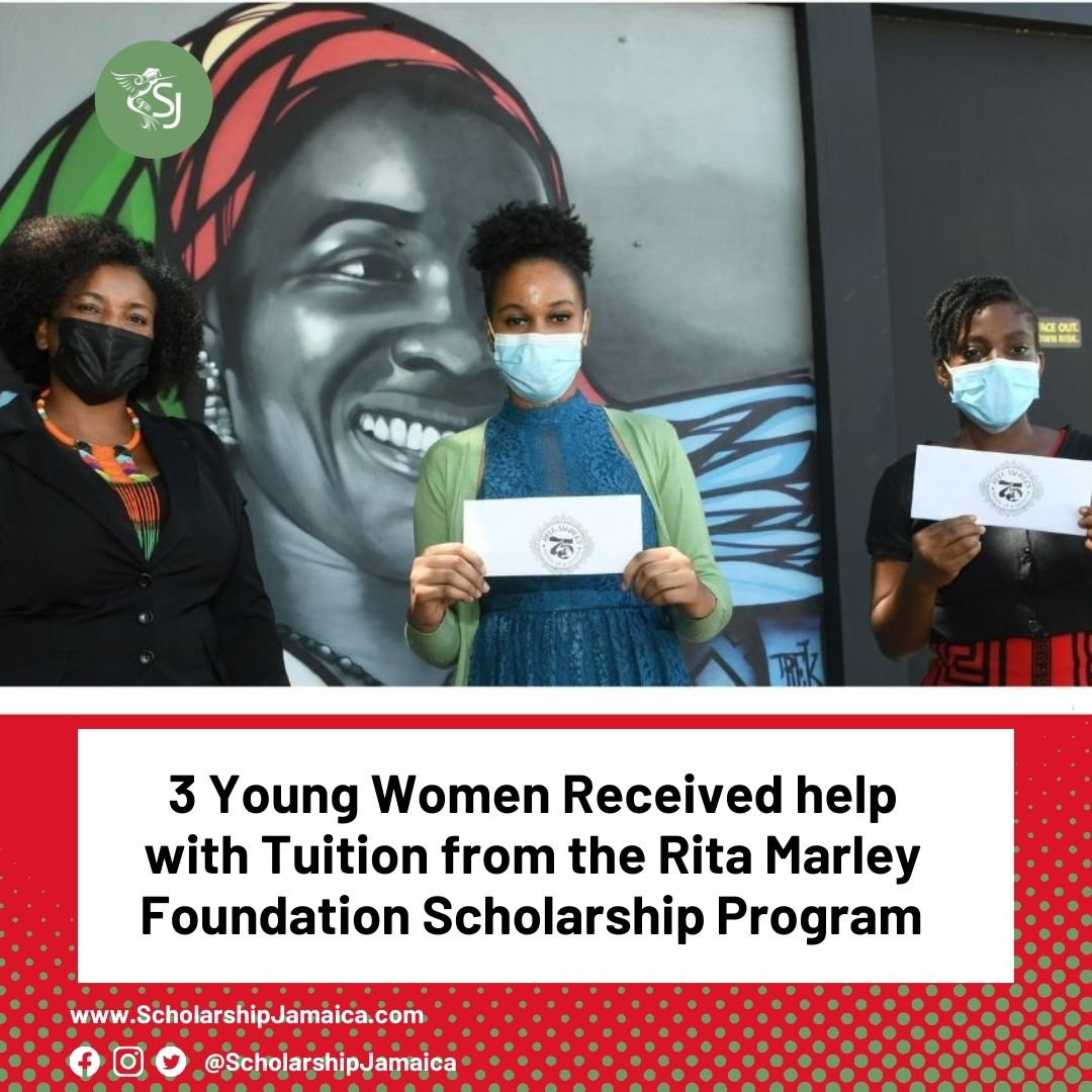 Three Young Women Receive help with Tuition from the Rita Marley Foundation Scholarships