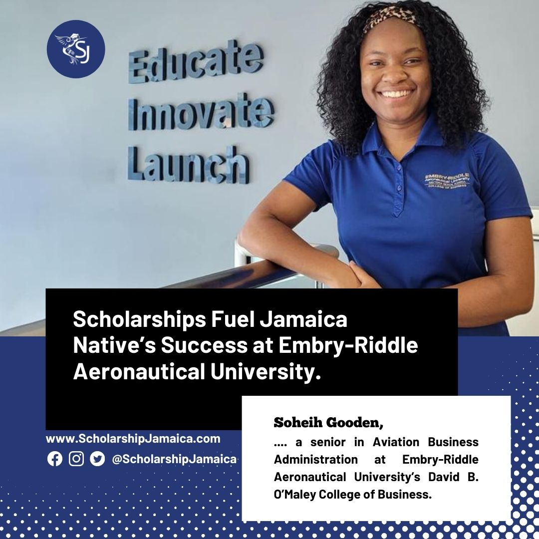Scholarships fuel Jamaica native's success at Embry-Riddle